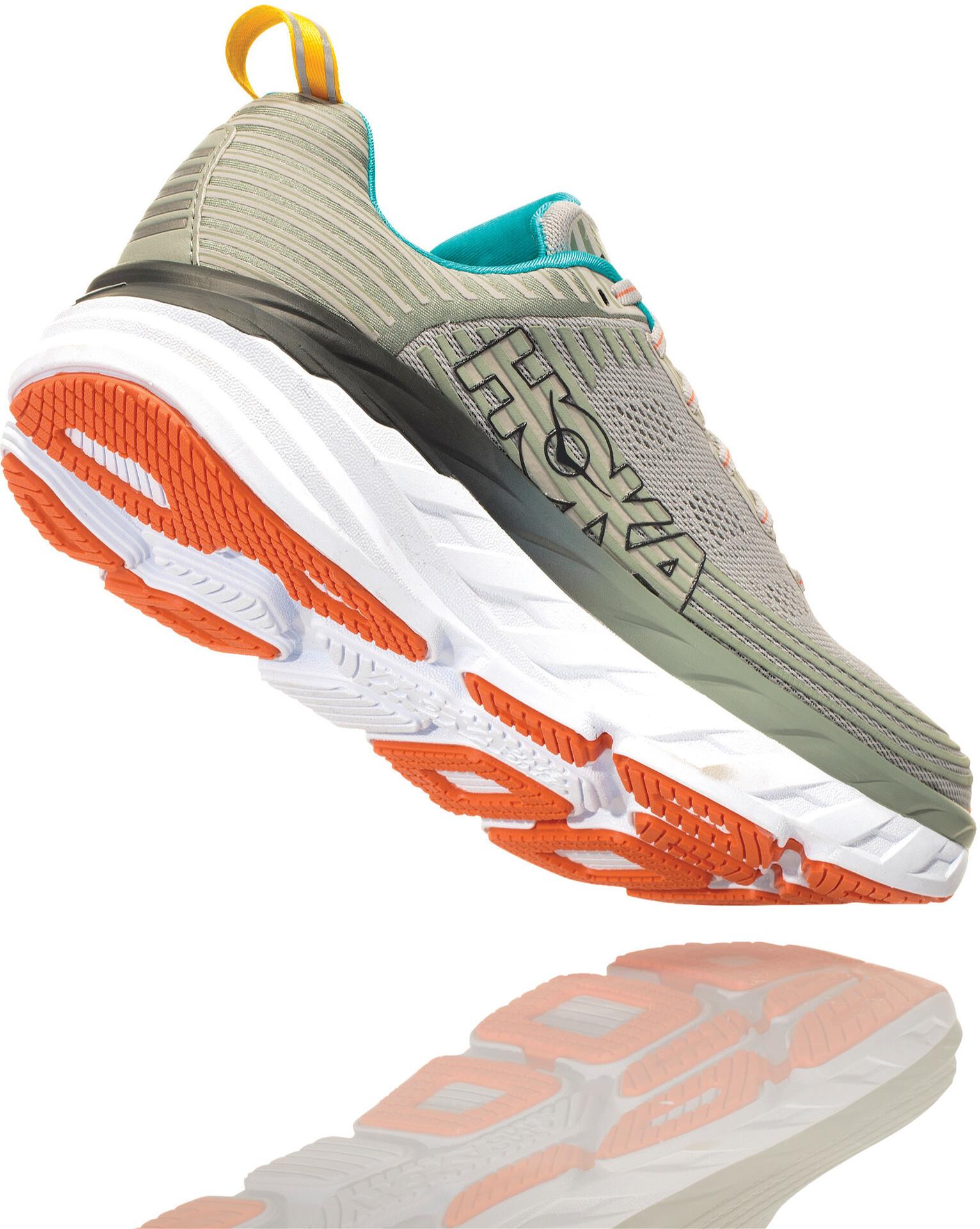 Hoka One One Bondi 6 Chaussures de trail Femme, vapor bluewrought iron